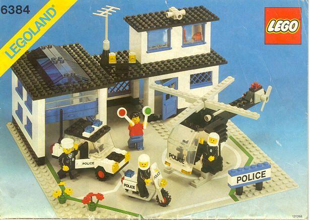 Lego 6384 - Police Station