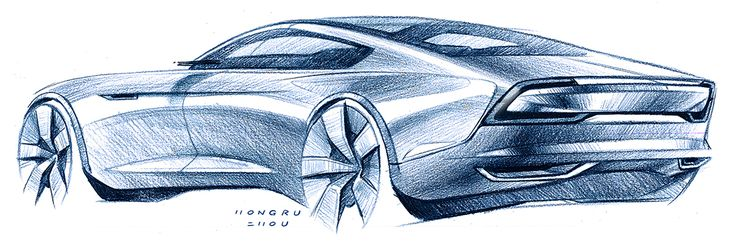 Car Sketches on Behance