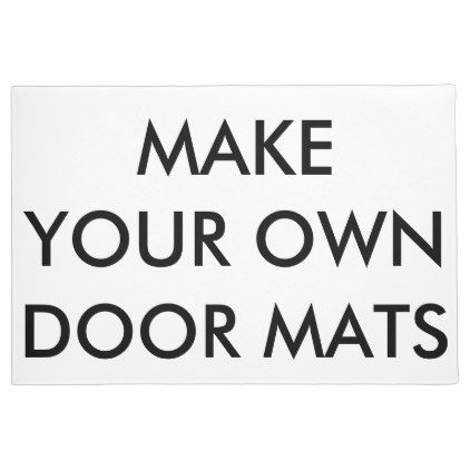 Custom Personalized Large Door Mat Blank Template - create your own gifts personalize cyo custom
