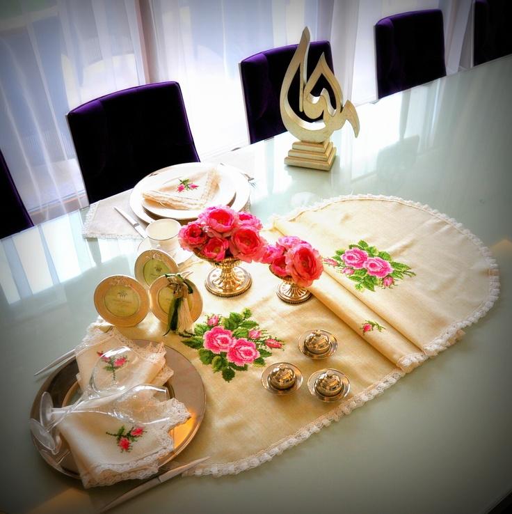 #guest #tableware #OttomanDesignbyNV #sofra #misafir #tablecloth
