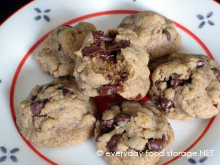 best ever choc chip cookies-Em's recipe. So good, used caramel bits too...(substitute wheat flour if desired).: Food Storage Recipes Preserves, Chocolate Chips, Chips Cookies Substitute, Chocolates Chips Cookies, Choc Chips Cookies, Recipes Cookies, Chocolate Chip Cookie, Cookies Recipe, Cookie Recipes
