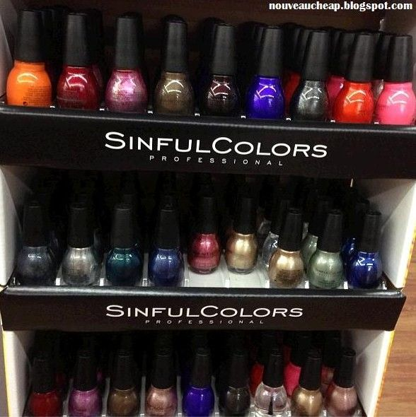 There S A New Sinful Colors Display Popping Up At Walmart Come See What S New And What S Been Reissued Sinful Colors Sinful Colors Nail Polish Sinful