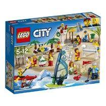 LEGO City personenset plezier aan het strand 60153