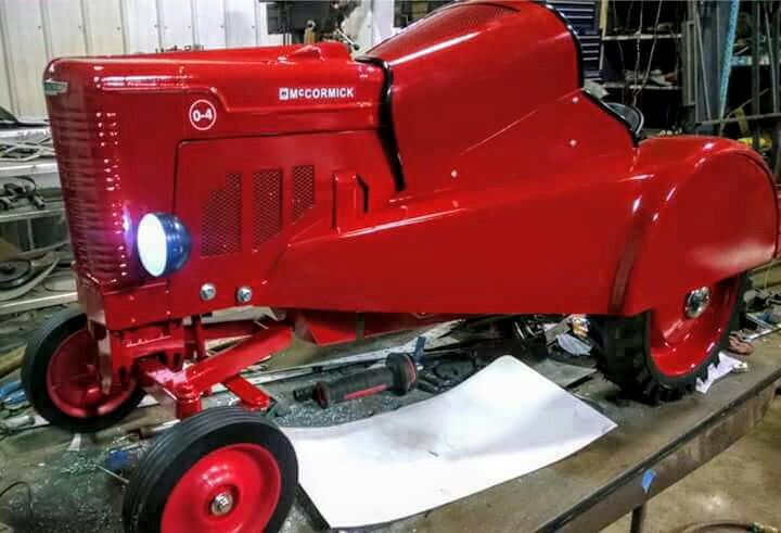 Custom Built IH McCORMICK O-4 Orchard Pedal Tractor