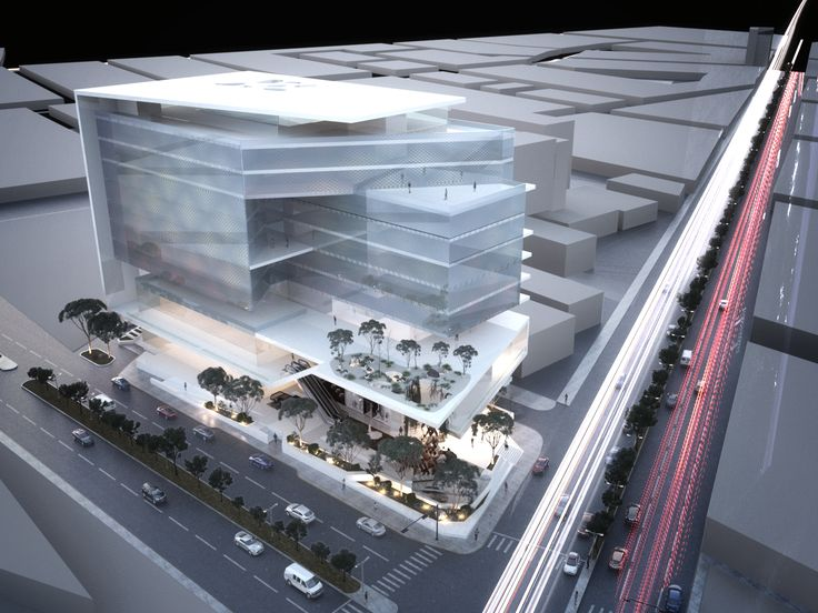 Centro Comercial - Plaza Comercial - Commercial Center - Mall - Conceptual