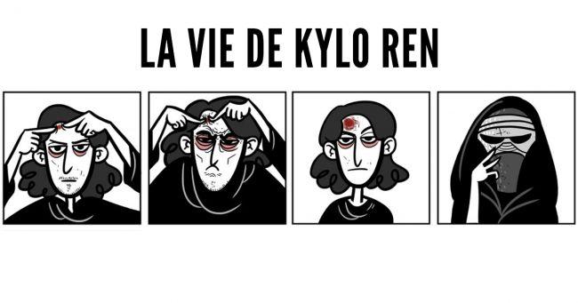 Top 7 des petites anecdotes sur la vie de Kylo Ren en BD on a de la peine pour lui