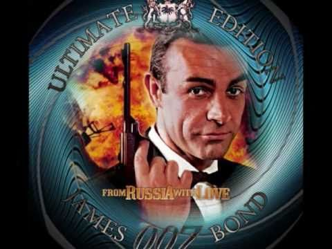 FROM RUSSIA WITH LOVE THE SECOND BOND FILM FROM 1963 THE MUSIC COMPOSED BY SIR JHON BARRY AND LIONEL BART.DURING THOSE DAYS THE RUSSIAN FLAG LOOKED LIKE THAT NO SOVIETUNION ADMIRATION.