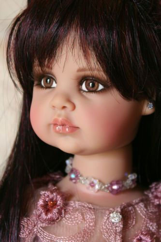 Jan McLean Keisha - all of her dolls were lovely