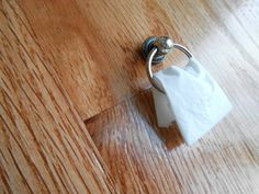 DIY Miniature Doll House Towel Ring How-To. This site has great dollhouse…