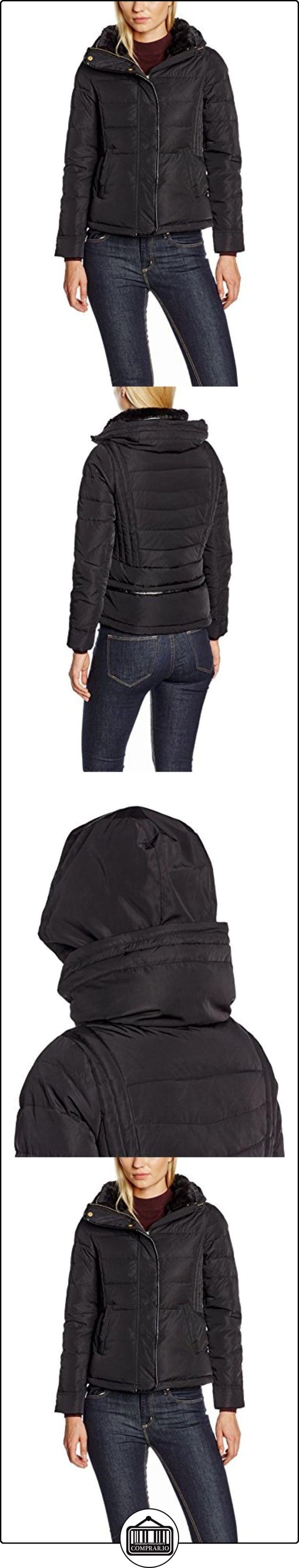 Naf Naf BU-Emma K1, Impermeable para Mujer, Negro, 40  ✿ Abrigos y chaquetas ✿