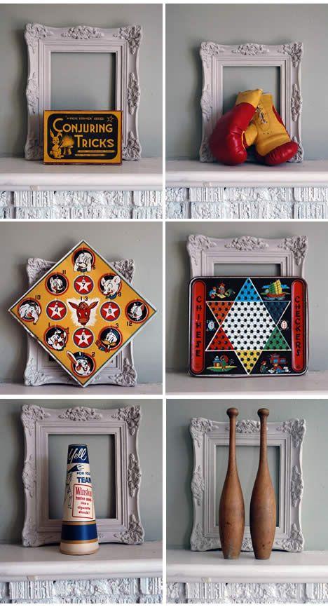 Vintage games & great display