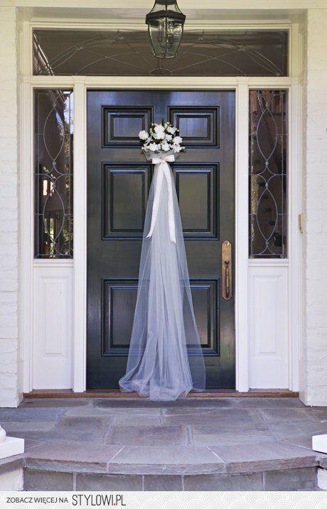 Znalezione obrazy dla zapytania dekoracje świąteczne wejścia do domu