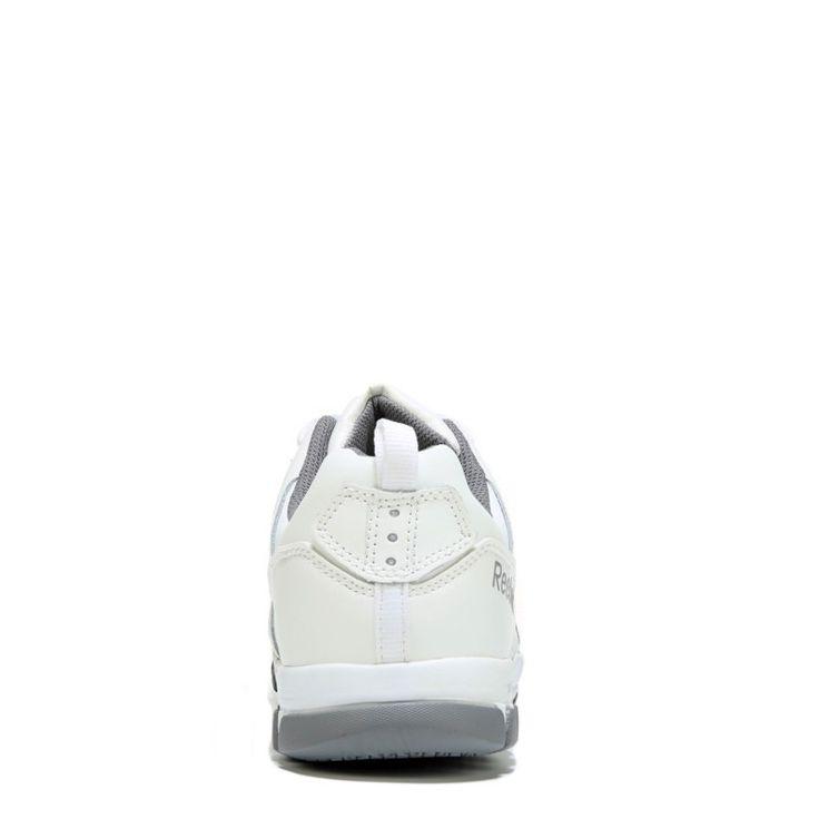 Reebok Work Men's Subtile Work Medium/Wide Steel Toe Sneakers (White Leather) - 14.0 M
