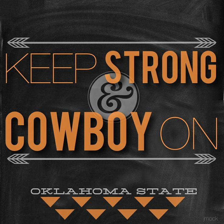 Keep Strong & Cowboy On