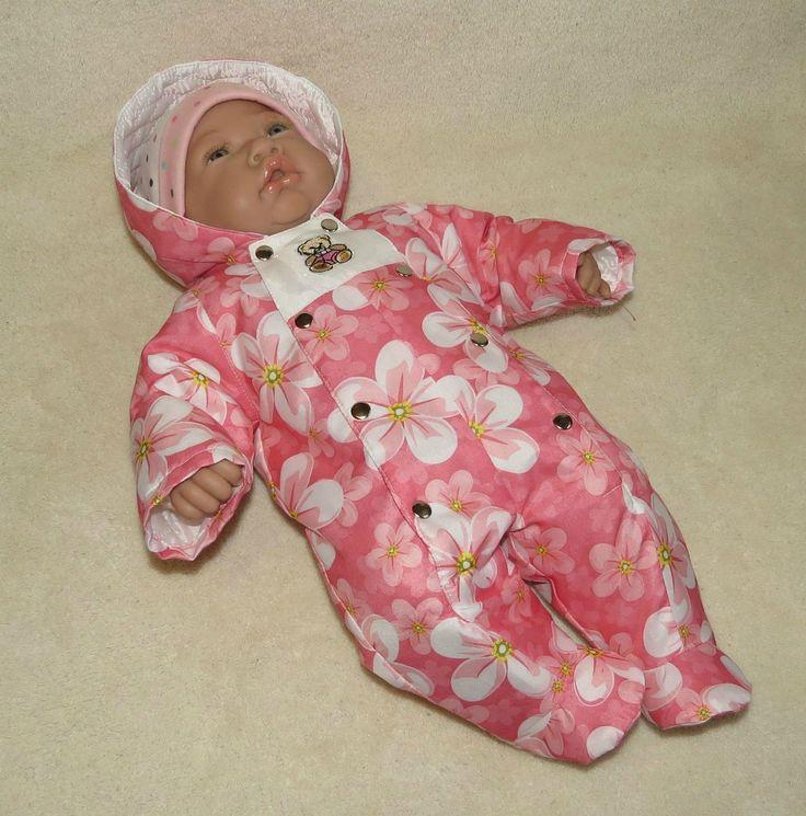Комбинезон для куклы-малышастика, выкройка / Мастер-классы, творческая мастерская: уроки, схемы, выкройки кукол, своими руками / Бэйбики. Куклы фото. Одежда для кукол