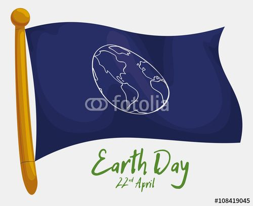 Commemorative Flag for Earth Day