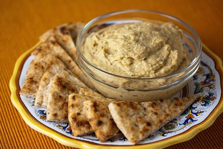 Ottoman Table Hummus Recipe: a Dip Fit for a Sultan- recipe dates back to 1469- organic authority
