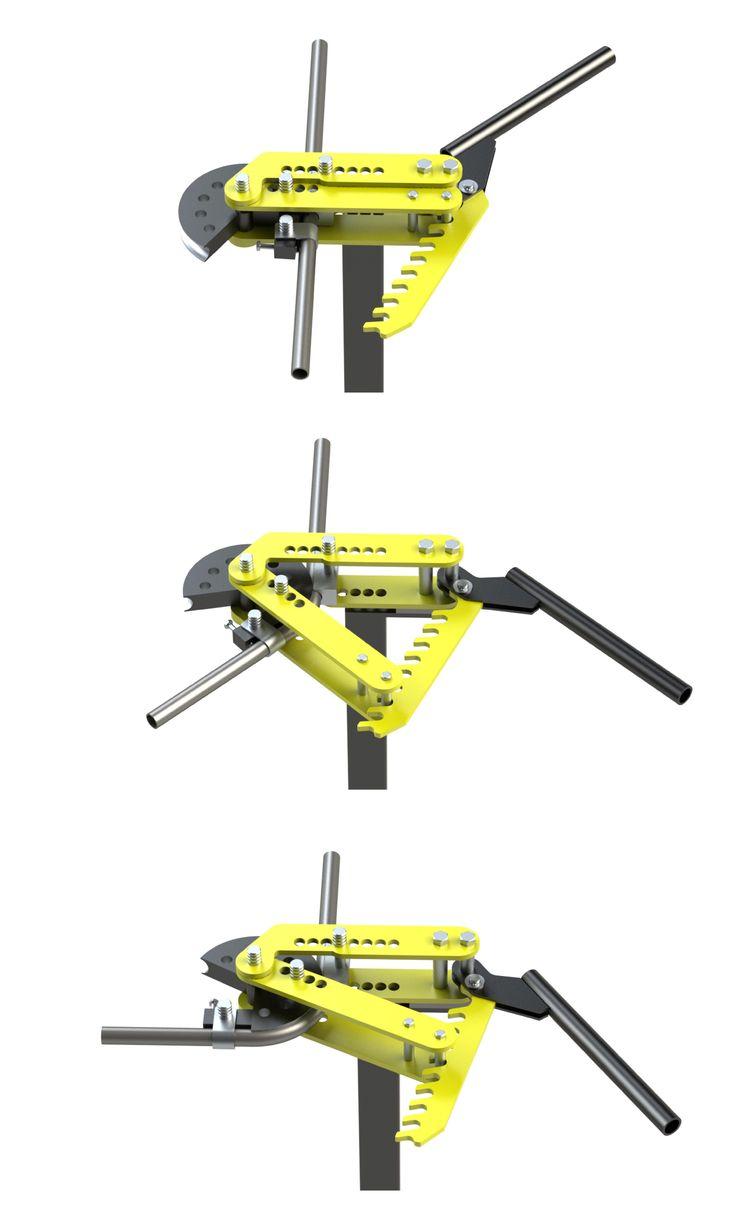 Tube Bender - SOLIDWORKS - 3D CAD model - GrabCAD