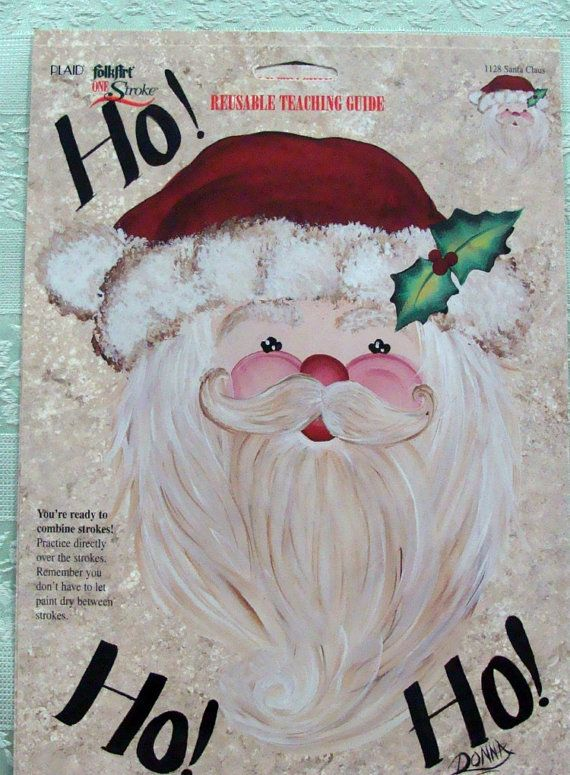 one+stroke+Christmas+design   One Stroke Reusable Christmas Teaching Guides by Donna Dewberry - 4
