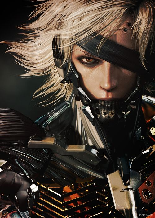 The color is so vivid (but Raiden has blue/red eyes)!