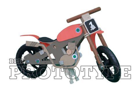 BLINKENBIKE Model WildDuck with Motorcross Accessories