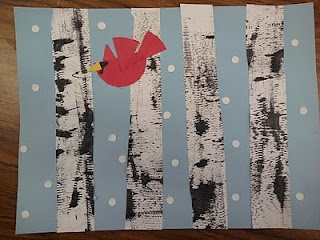 art projects to do with kids. Great ideas. (I actually want do make birch trees on canvas to cover the fuse box in my bedroom)