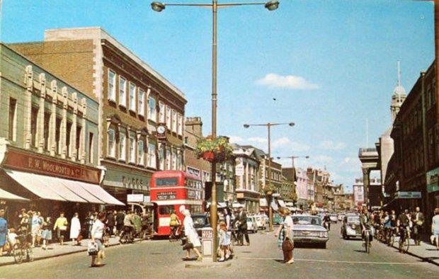 Peterborough Woolworths 1960s