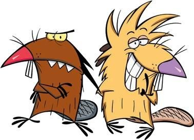 Daggett Doofus Beaver and Norbert F Cartoon Kunst, Cartoon Tv, Cartoon Shows, Cartoon Characters, Nickelodeon Cartoons, Retro Cartoons, 90s Childhood, Childhood Memories, Beaver Drawing