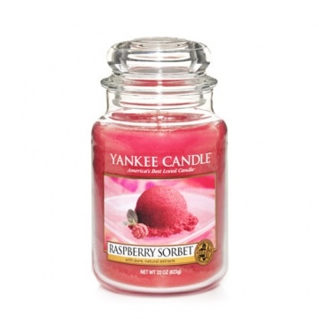 Raspberry Sorbet : Large Jar Candle : Yankee Candle