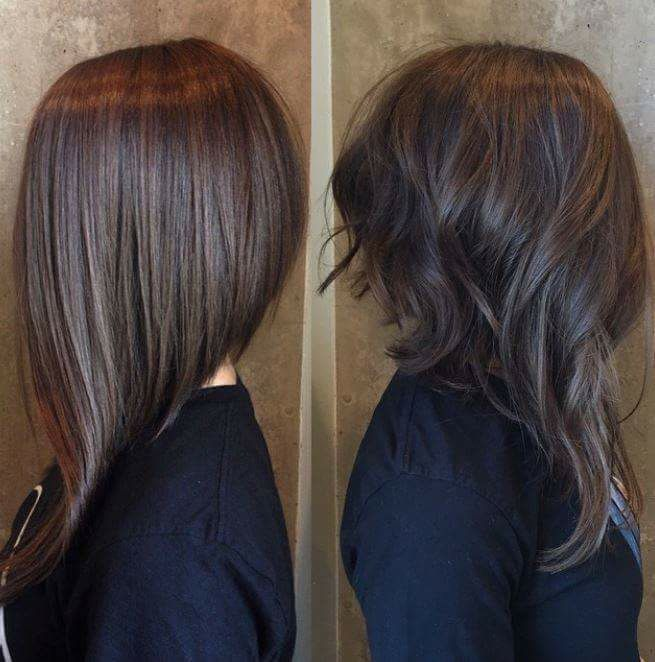 Fantastic LOB hairstyle from the fantastic Modern Salon.