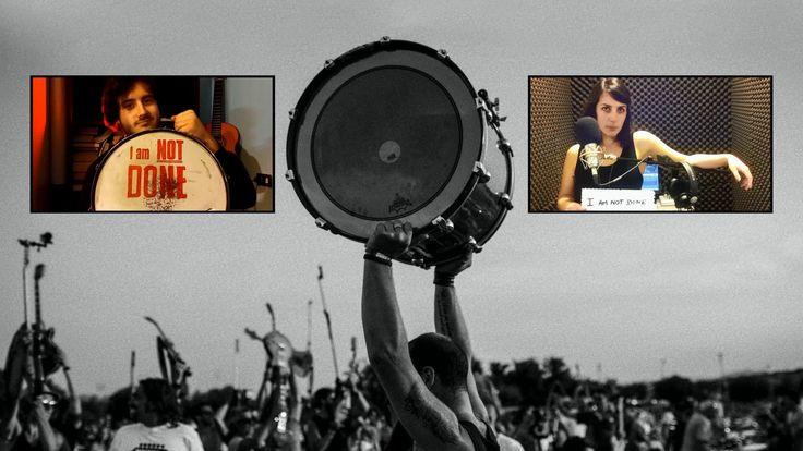 Saint Cecilia Foo Fighters Rockin'1000