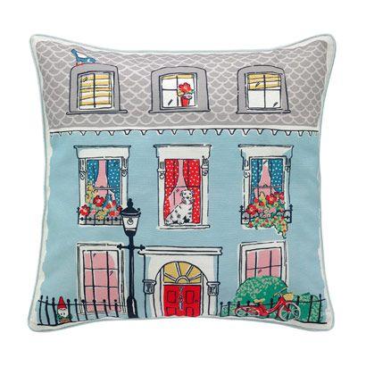 Cath Kidston Billie's Town House  Cushion