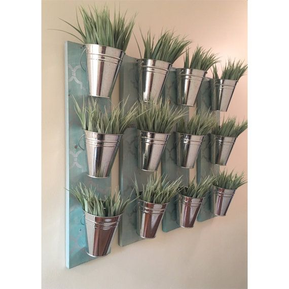 Indoor Wall Planter Blue by HomeOniship on Etsy - Best 25+ Indoor Wall Planters Ideas On Pinterest Herb Wall