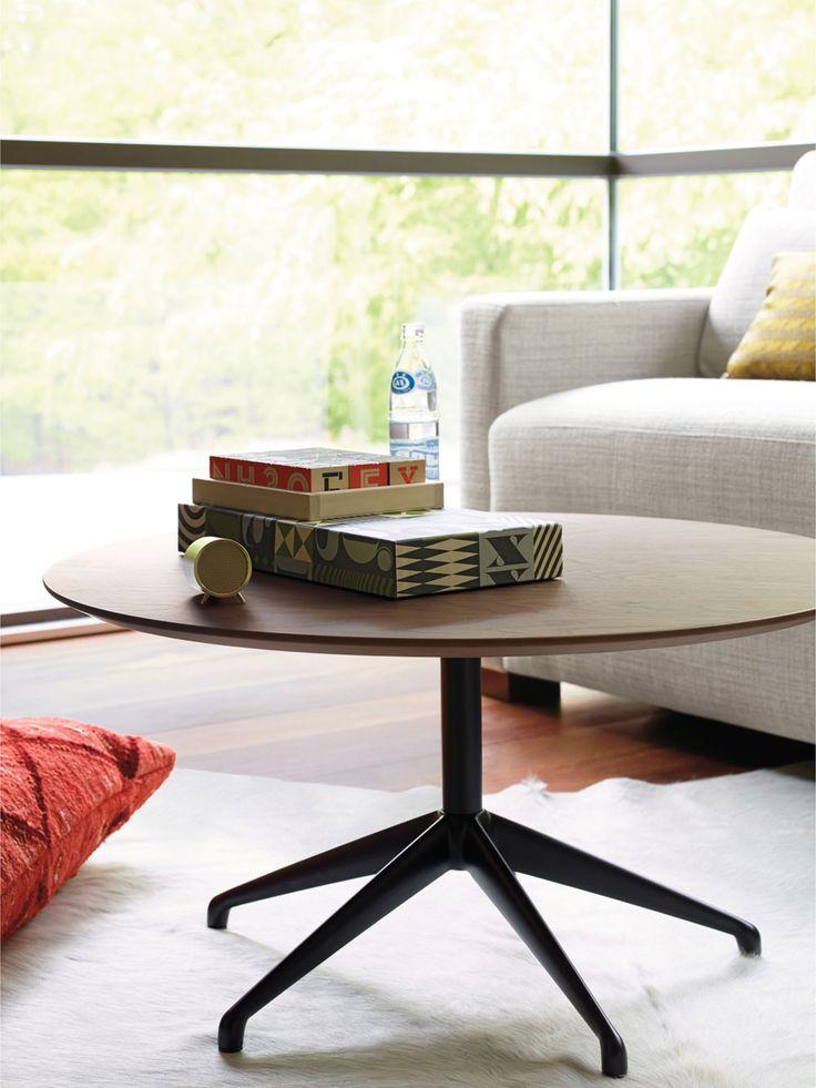 STUA Marea table with walnut top and black base a jesus gasca design. MAREA…