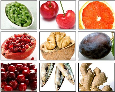 Anti-inflammatory diet: These select foods, including oily fish, pomegranate and ginger, help calm the immune system - and prevent a handful of ills