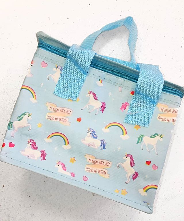 Lunch bags don't come any cuter than this! Channel your inner-Unicorn ere'dayAvailable in store and onlinehttp://ift.tt/2psh3gX