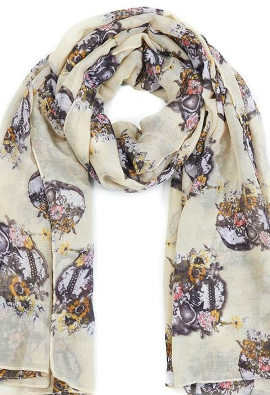 Captivating Spring, Skull Scarf Awesome Ideas