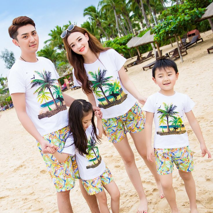 Family Matching Outfits Casual Family Clothing Mom/Mother and Daughter Clothes Father and Son Clothes Family Clothing Sets CY37