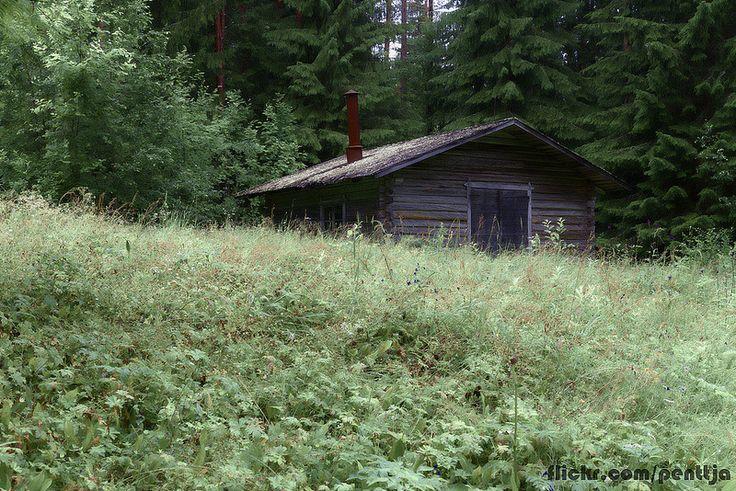 Cottage, Seitseminen national park, Finland