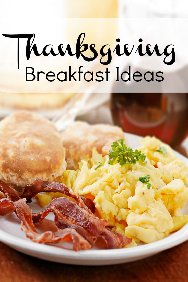 Times during the holidays can sometimes be stressful, so make sure you also prepare a hearty, Thanksgiving breakfast to help you prep for the day.