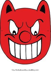 Un masque de Blaise, le poussin masqué (Claude Ponty) à télécharger.