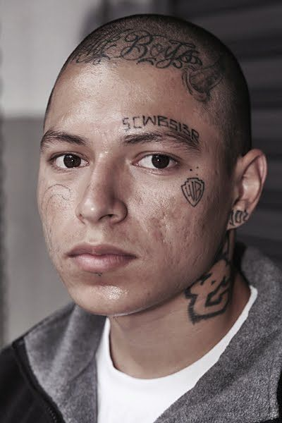 160 best images about gang prison tattoos gangsters and for Gang face tattoos