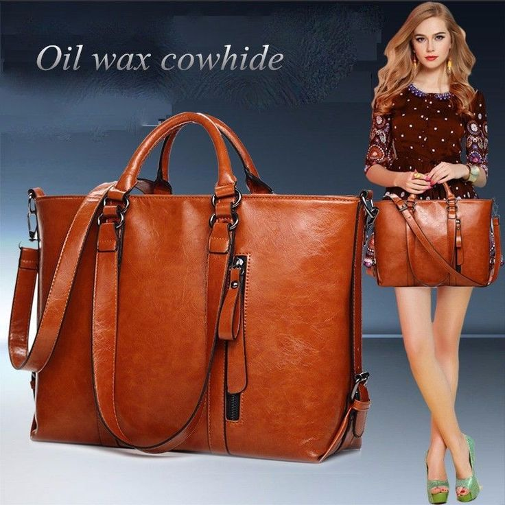 New Fashion Genuine Leather bags Tote Women Leather Handbags Women Messenger Bag…