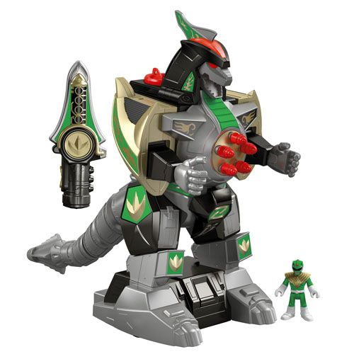 IMAGINEXT® POWER RANGERS™ Green Ranger & Dragonzord RC - Shop Imaginext Kids' Toys | Fisher-Price