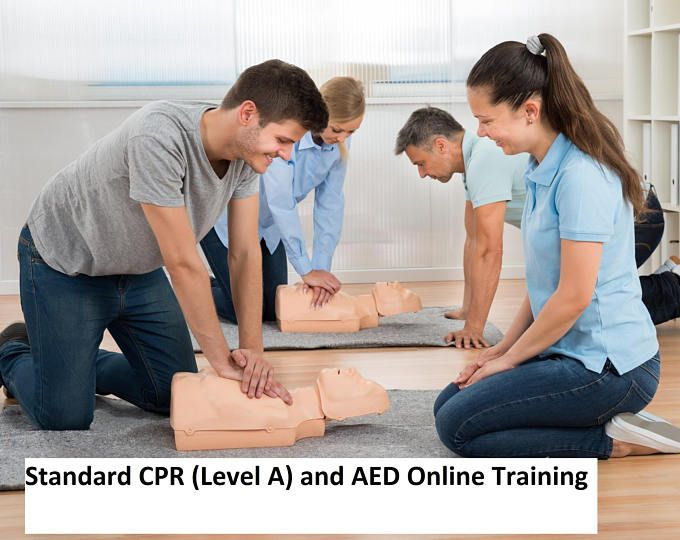 Standard CPR (Level A) and AED Certification Training Online