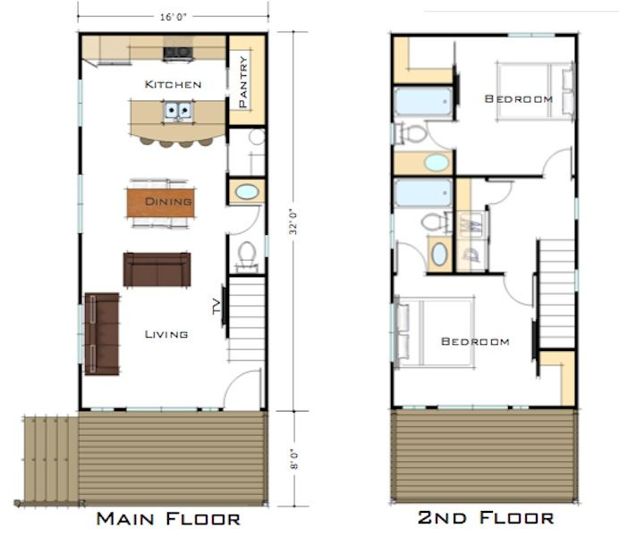 Zip kit homes plans and pricing tiny houses for Tiny house with main floor bedroom