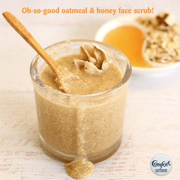 Oh-so-good #oatmeal & #honey #face #scrub. Every now and then your face needs a good, deep scrub!  #Learn how to #make it: http://dabblesandbabbles.com/oatmeal-honey-face-scrub/