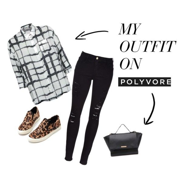 weekend outfit by freecoolina on Polyvore featuring Frame Denim