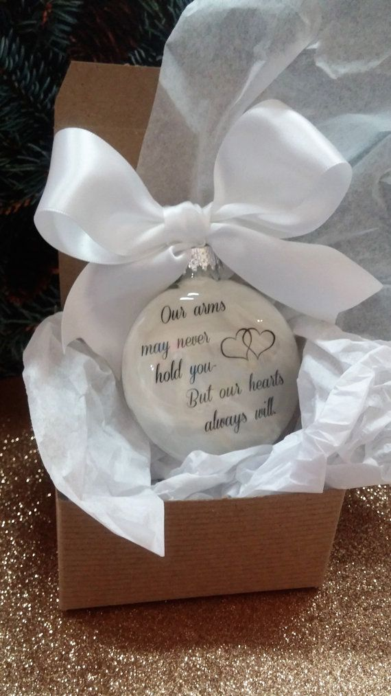 Miscarriage Gift Memorial Ornament By Shopcreativecanvas
