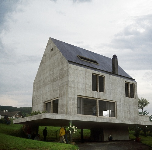 Rudin house herzog de meuron architecture pinterest for Famous minimalist buildings